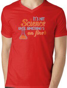 It's Not Science Until... Mens V-Neck T-Shirt