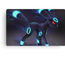 Umbreon Pokemon Cool Dark Eevee Evolution Canvas Print