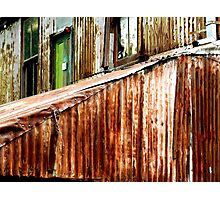 Rusty out back Photographic Print