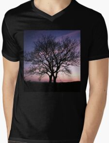 Two Trees embracing Mens V-Neck T-Shirt