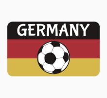 German Flag with Football Kids Clothes