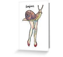 miss cargot Greeting Card