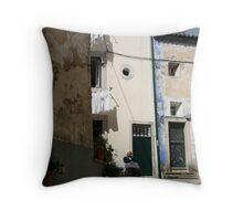 Sintra steps Throw Pillow