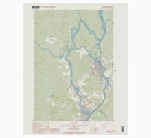 Maine USGS Historical Map Old Town 102846 1998 24000 One Piece - Short Sleeve