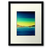 Manly ferry Framed Print