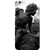 Sculpture On The River Seine Paris iPhone Case/Skin