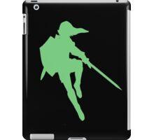 Link silhouette iPad Case/Skin
