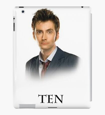 Ten iPad Case/Skin