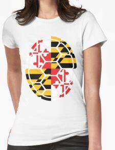 Maryland Flag Shell T-Shirt
