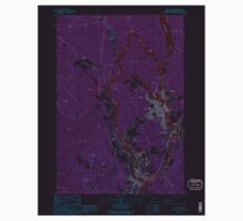 Maine USGS Historical Map Old Town 808145 1988 24000 Inversion Kids Tee