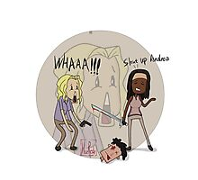 The Walking Dead Shut Up Andrea Photographic Print