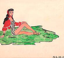 Bathing Beauty by Rosalie Scanlon