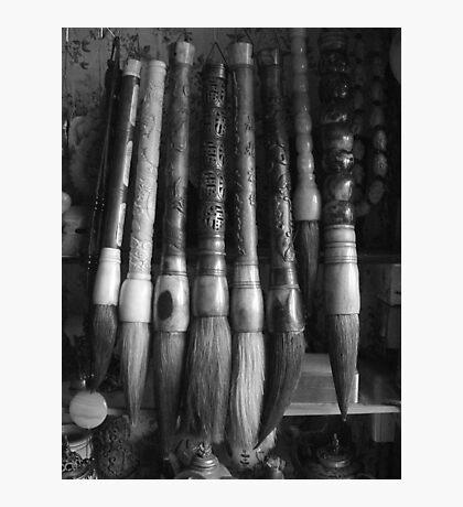 Brushes Photographic Print