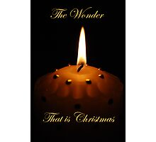 The Wonder That is Christmas Photographic Print