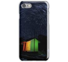 Swanbank Siding Startrails iPhone Case/Skin
