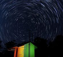 Swanbank Siding Startrails by theblastedtower