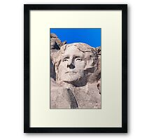 Thomas Jefferson, Mount Rushmore National Memorial  Framed Print