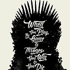 Game of Quotes- Iron Throne by spacemonkeydr