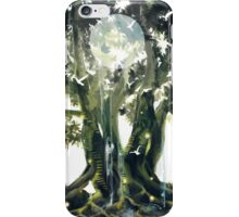 home is behind iPhone Case/Skin