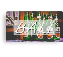 Bali Bintang Typography Print Canvas Print