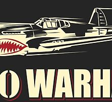 P-40 Warhawk by Downwind
