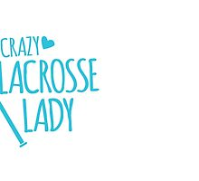 Crazy Lacrosse Lady by jazzydevil