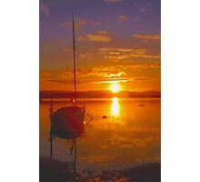 Sunset at Belmont Photographic Print