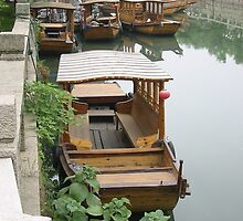 'Boats at rest' by Roger Smith
