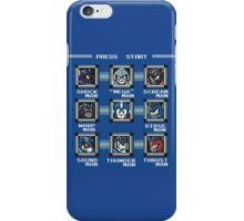 Transformers Megaman Style Design (Decepticon) iPhone Case/Skin