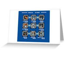 Transformers Megaman Style Design (Autobot) Greeting Card