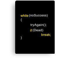 Algorithm for Success Canvas Print