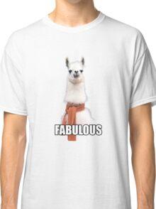 Fabulous Llama Classic T-Shirt