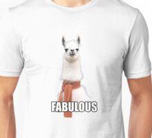 Fabulous Llama Unisex T-Shirt
