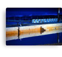 Sunrise - Merewether Baths Canvas Print