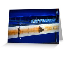 Sunrise - Merewether Baths Greeting Card