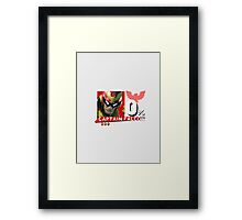 Captain Falcon - Super Smash Bros Wii U Framed Print
