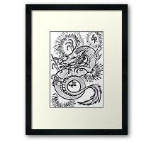 dragon dagger Framed Print