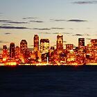 Elliott Bay, Seattle Dawn by Ian Phares