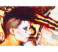 Punk Chic closer Photographic Print