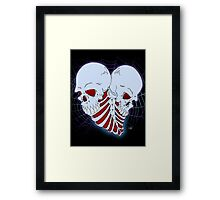 Love to death Framed Print