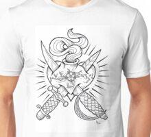 dagger heart Unisex T-Shirt