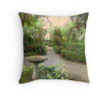 Spring Garden Path # 1 Throw Pillow