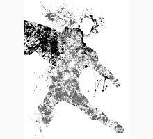Thor Splatter Art Men's Baseball ¾ T-Shirt