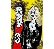 Sid and Nancy Photographic Print