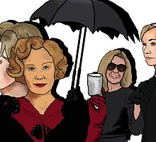 American Horror Story: Jessica Lange by billyfalcon