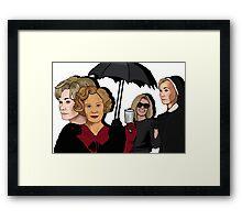 American Horror Story: Jessica Lange Framed Print