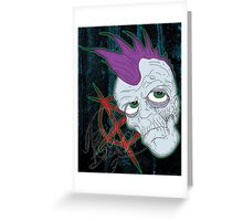 Punk's Not Dead Greeting Card
