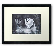 Its Just Emotion Framed Print