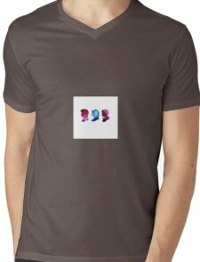 Doctor who. Amy, Rory and the Doctor Mens V-Neck T-Shirt