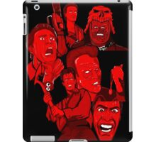multiple Ash evil dead army of darkness collage iPad Case/Skin
